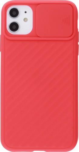 Coque iPhone 11 - Caméra Clapet rouge