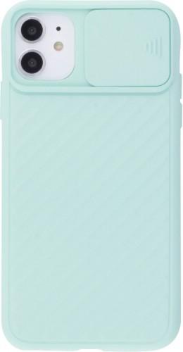 Coque iPhone 11 - Caméra Clapet turquoise