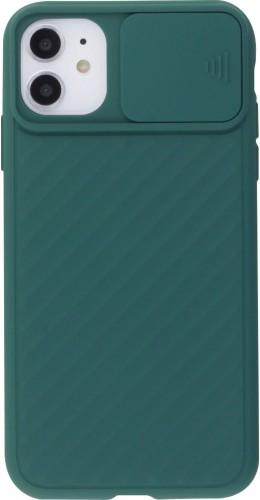 Coque iPhone 11 - Caméra Clapet vert foncé