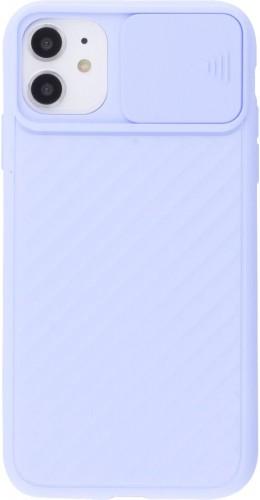 Coque iPhone 11 - Caméra Clapet violet