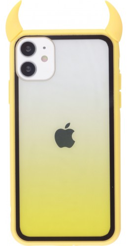 Coque iPhone 11 - Demon Gradient jaune