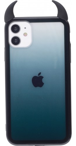 Coque iPhone 11 - Demon Gradient noir