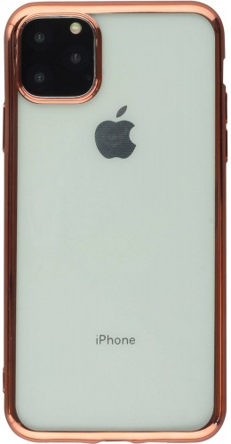 Coque iPhone 11 Pro - Electroplate or rose