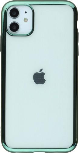 Coque iPhone 11 - Electroplate vert