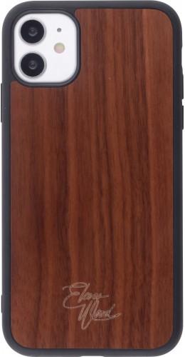 Coque iPhone 11 - Eleven Wood Walnut