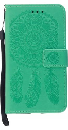 Coque iPhone 11 - Flip Dreamcatcher vert menthe