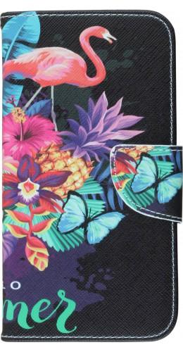 Coque iPhone 11 - Flip Flowers Exotic