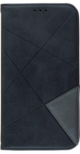Coque iPhone 11 - Flip Géometrique noir