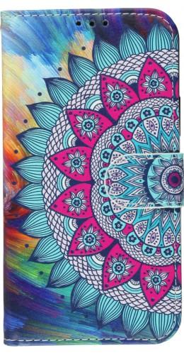 Fourre iPhone 11 Pro - Flip Mandala rainbow