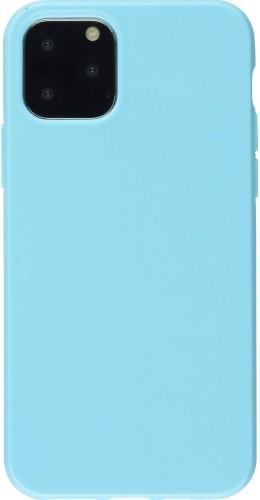 Coque iPhone 12 mini - Gel bleu clair