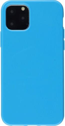 Coque iPhone 11 - Gel bleu foncé