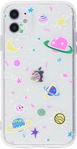Coque iPhone 12 / 12 Pro - Gel dessin espace