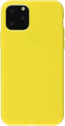 Coque iPhone 11 - Gel jaune