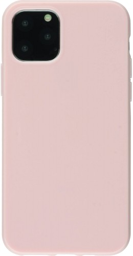 Coque iPhone 12 mini - Gel rose clair