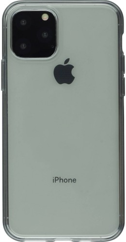 Coque iPhone 11 - Gel transparent gris
