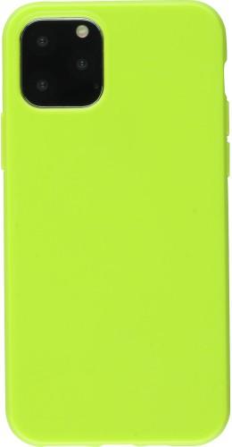 Coque iPhone 11 - Gel vert