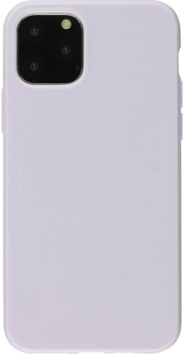 Coque iPhone 12 mini - Gel violet clair