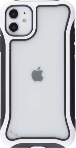 Coque iPhone 11 - Hybrid Frosted blanc