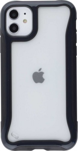 Coque iPhone 11 - Hybrid Frosted noir