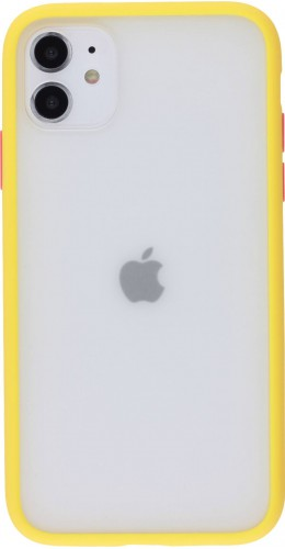 Coque iPhone 11 - Matte jaune