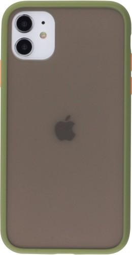 Coque iPhone 11 - Matte kaki