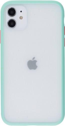 Coque iPhone 11 - Matte turquoise