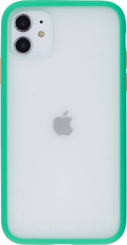 Coque iPhone 11 - Matte vert menthe