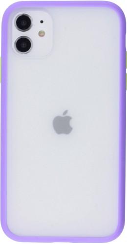 Coque iPhone 11 - Matte violet