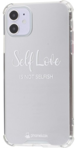 Coque iPhone 11 - Miroir Self Love