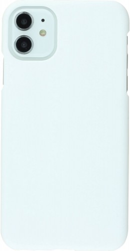 Coque iPhone 11 - Plastic Mat blanc