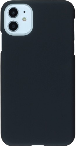 Coque iPhone 11 - Plastic Mat noir