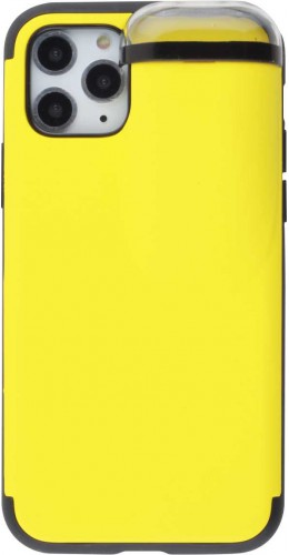 Coque iPhone 11 Pro - 2-In-1 AirPods jaune