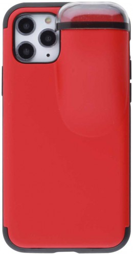 Coque iPhone 11 Pro - 2-In-1 AirPods rouge