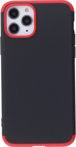 Coque iPhone 11 Pro - 360° Full Body noir rouge