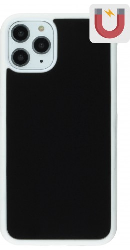 Coque iPhone 11 Pro - Anti-Gravity blanc