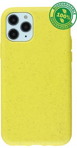 Coque iPhone 11 Pro Max - Bio Eco-Friendly jaune