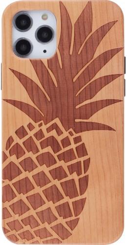 Coque iPhone 11 Pro - Bois ananas