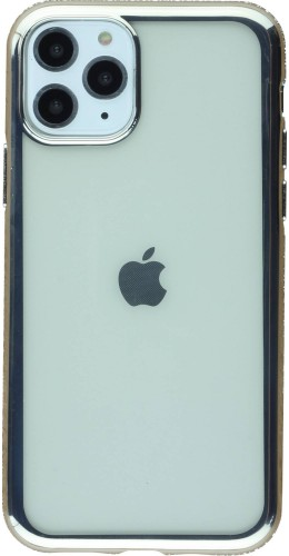 Coque iPhone 11 Pro - Bumper Diamond argent