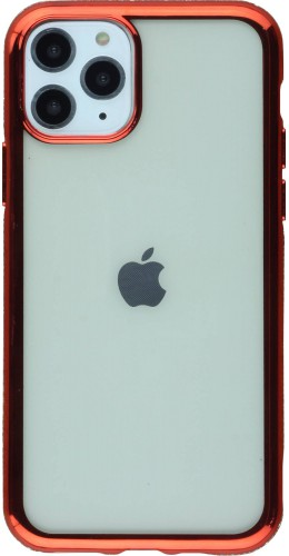 Coque iPhone 11 Pro Max - Bumper Diamond rouge