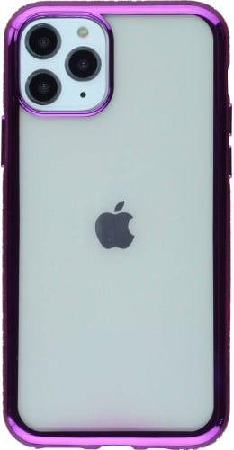 Coque iPhone 11 Pro - Bumper Diamond violet