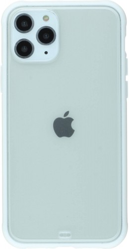 Coque iPhone 11 Pro Max - Bumper Blur blanc