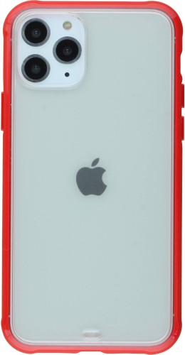 Coque iPhone 11 Pro - Bumper Blur rouge