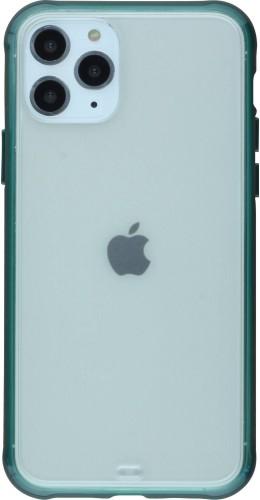 Coque iPhone 11 Pro Max - Bumper Blur vert
