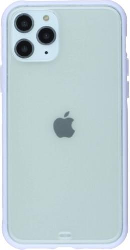 Coque iPhone 11 Pro Max - Bumper Blur violet