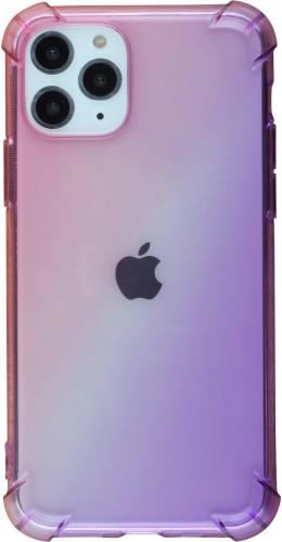 Coque iPhone 11 Pro - Bumper Rainbow rose violet