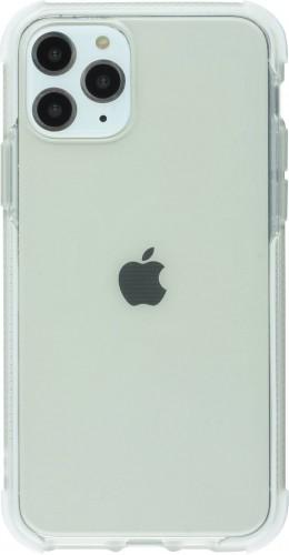Coque iPhone 11 - Bumper Stripes blanc