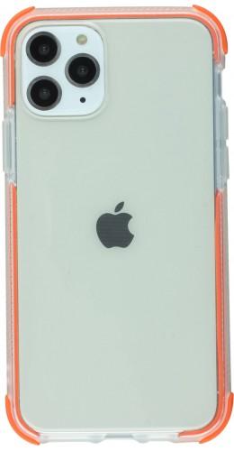 Coque iPhone 11 -  Bumper Stripes orange
