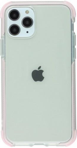 Coque iPhone 11 - Bumper Stripes rose