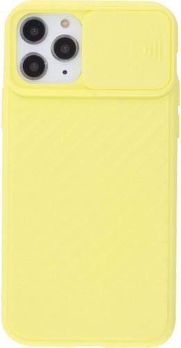 Coque iPhone 11 Pro Max - Caméra Clapet jaune