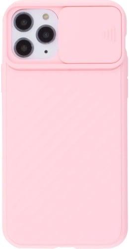 Coque iPhone 11 Pro Max - Caméra Clapet rose clair